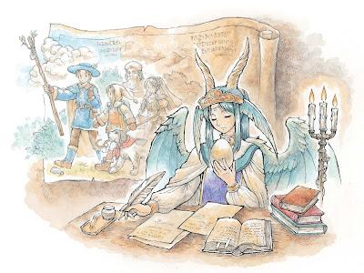 """Juegos de ROL: """"Ryuutama"""", juego de rol japonés por la editorial Other Selves."""