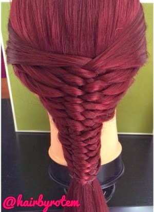 layered woven braid video instructions