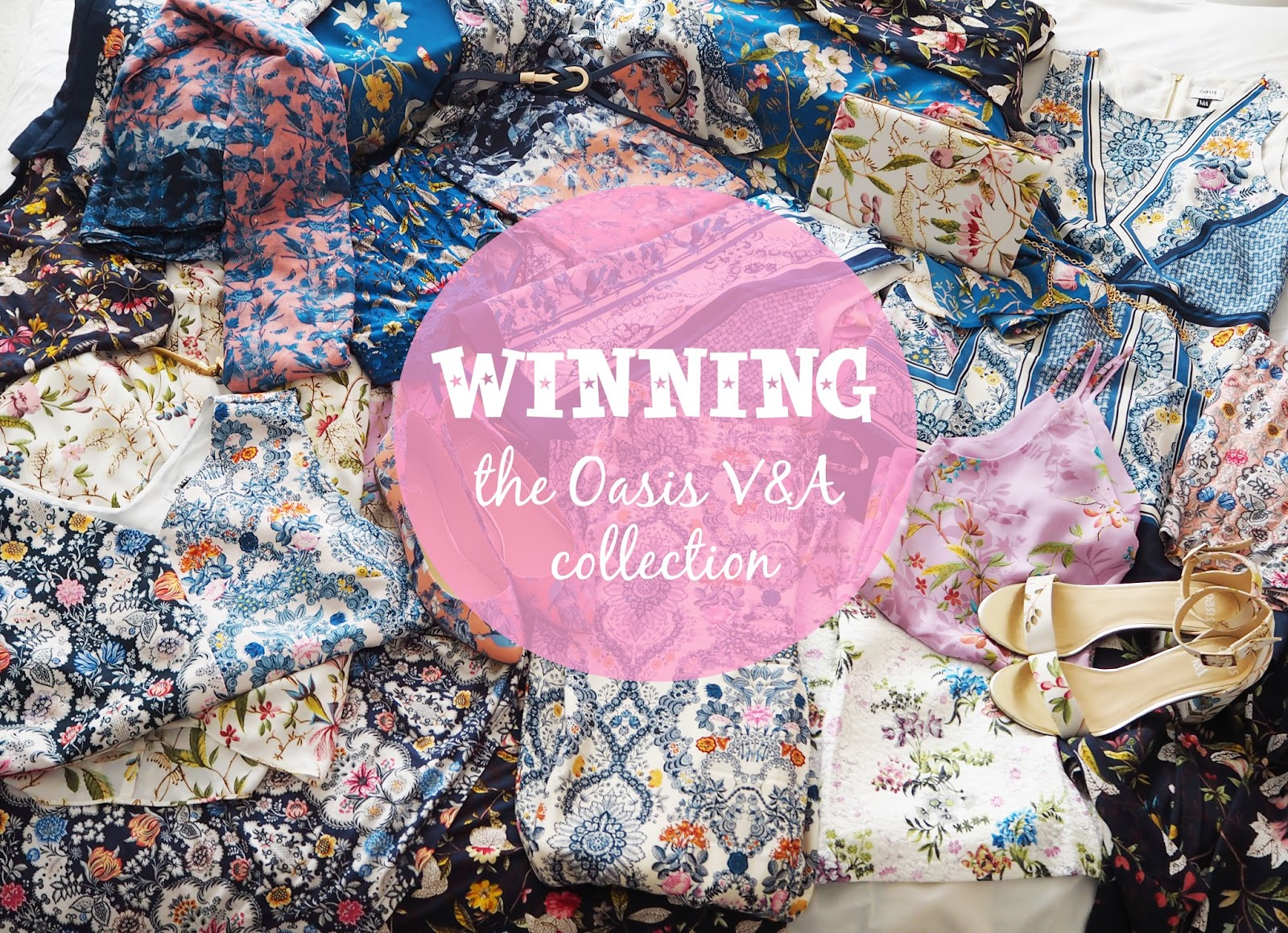 Winning the Oasis V&A Collection | Katie Kirk Loves