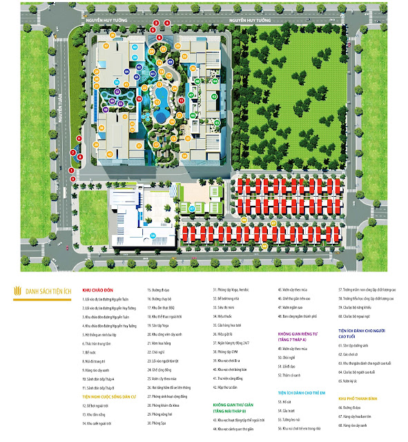 Sơ đồ mặt bằng dự án Imperia Garden