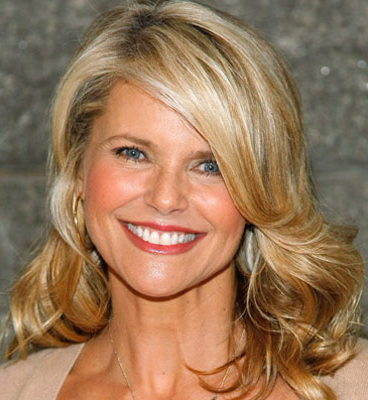 femail article christie brinkley launches anti aging skincare line admits lucky wrinkle free years