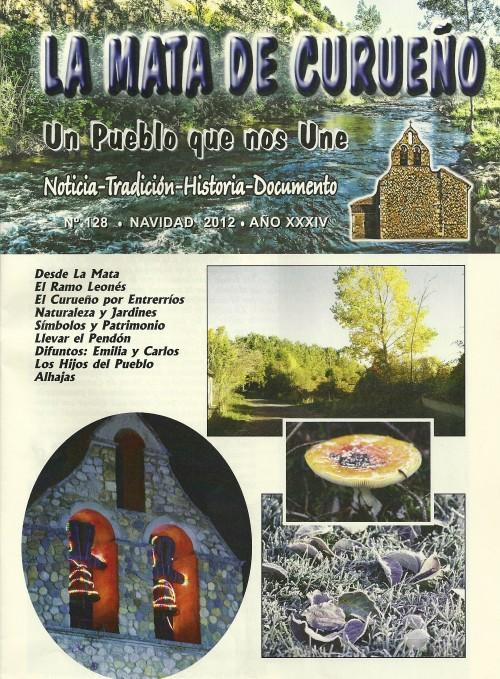 Boletin 128 - Portada - Navidad  2012 por La Mata de Curueño (León)