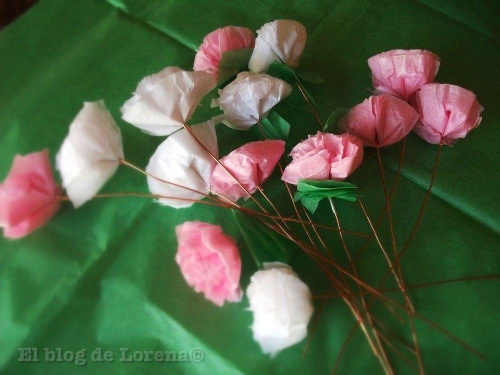 Como hacer un ramo de flores de papel los mejores ramos - Como hacer ramos de flores ...