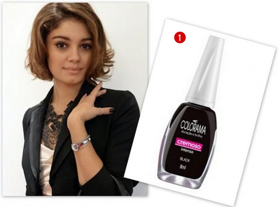 """Black, da marca """" Colorama """" . O preço sugerido é de R$: 2,65"""