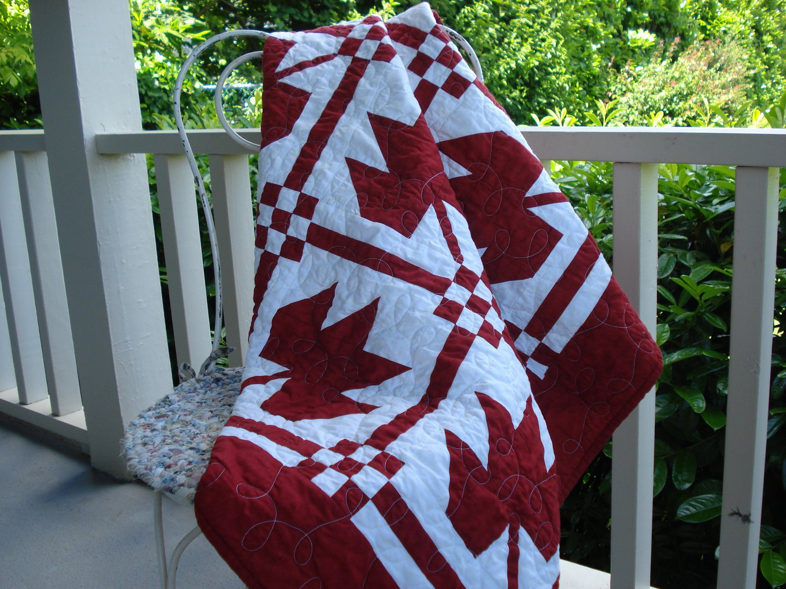 Snippets of a Quilter Happy Canada Day