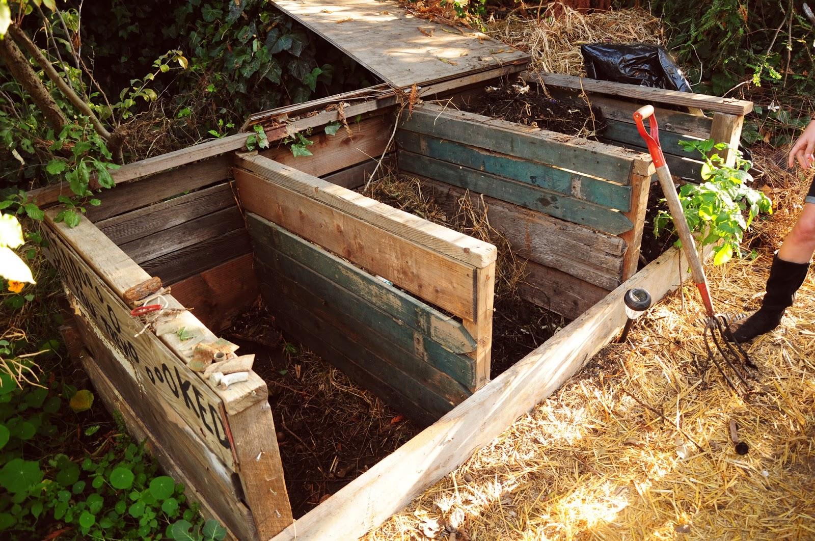 grow eat sleep repeat simple backyard compost process