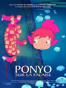 Ponyo Trên Dốc Đá Cạnh Bãi Biển - Ponyo On The Cliff By The Sea poster