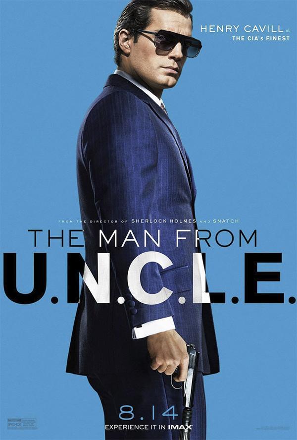 ヘンリー・カヴィル コードネーム U.N.C.L.E
