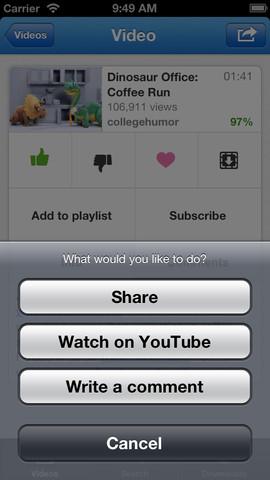 Tube+ iOS App