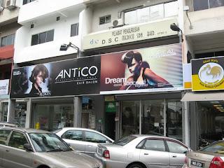 Antico Hair Saloon Damansara Utama
