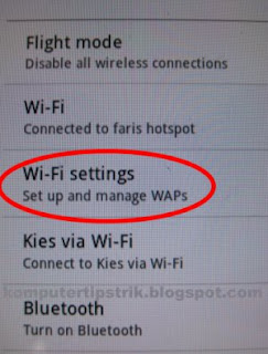 wifi , wi-fi android , setting wi-fi on android , pengaturan wi-fi di android