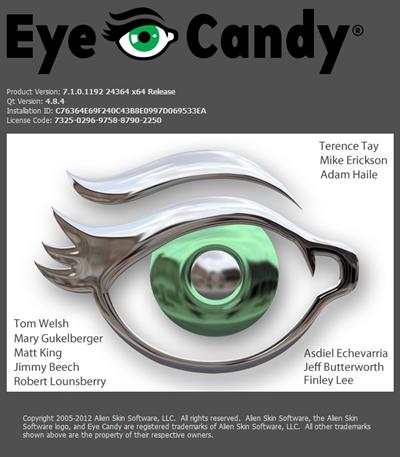 Alien Skin Eye Candy 7 Full Crack 11