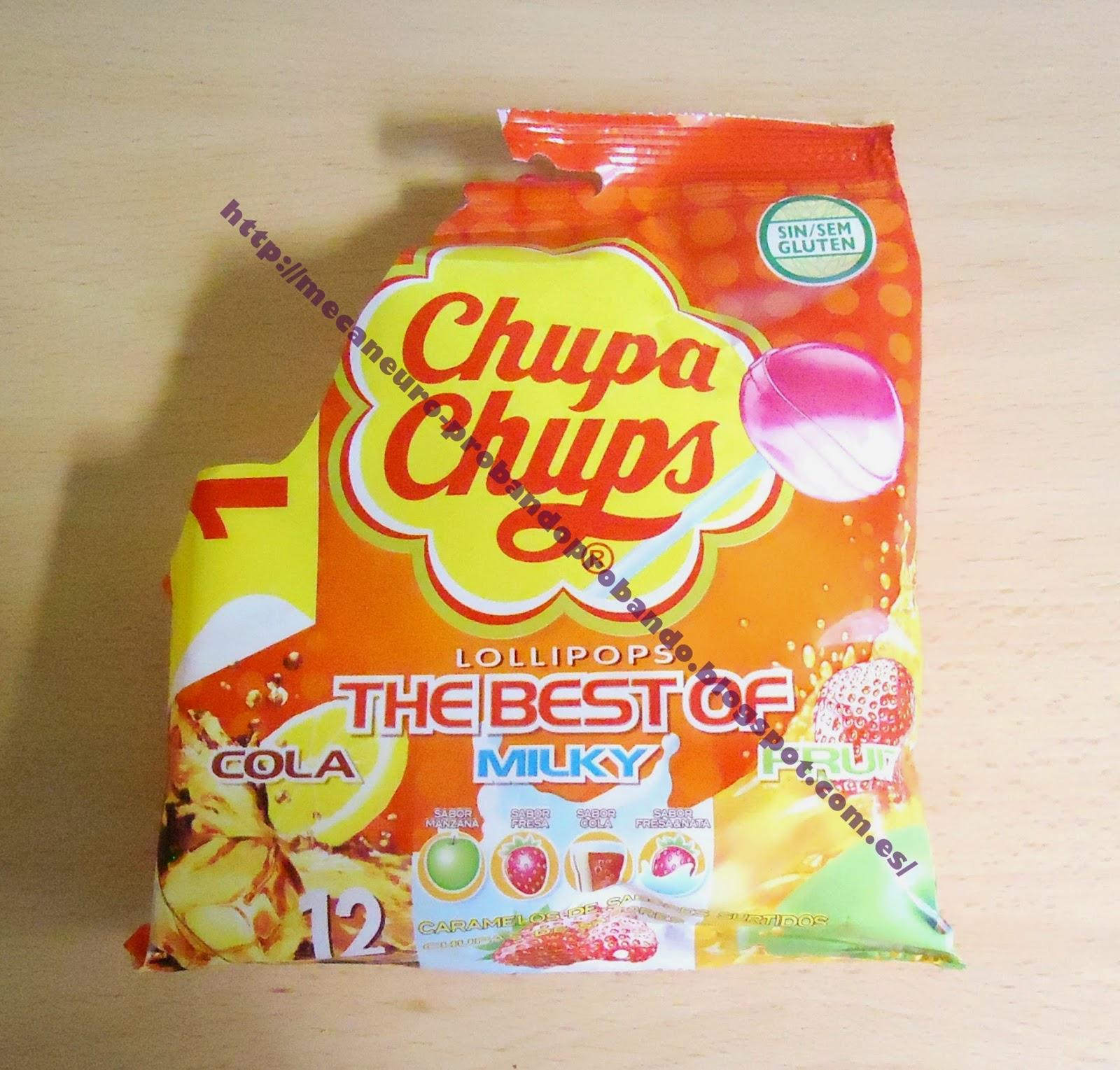 Chupa Chups, caramelo con palo