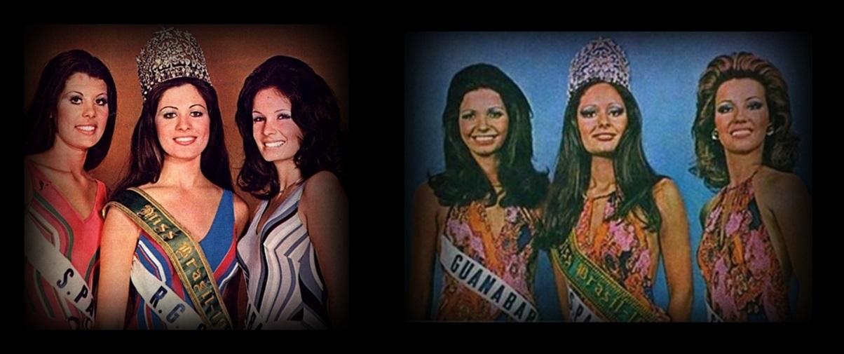 MISSES UNIVERSO BRASIL TOP TRES 1972 E 1973