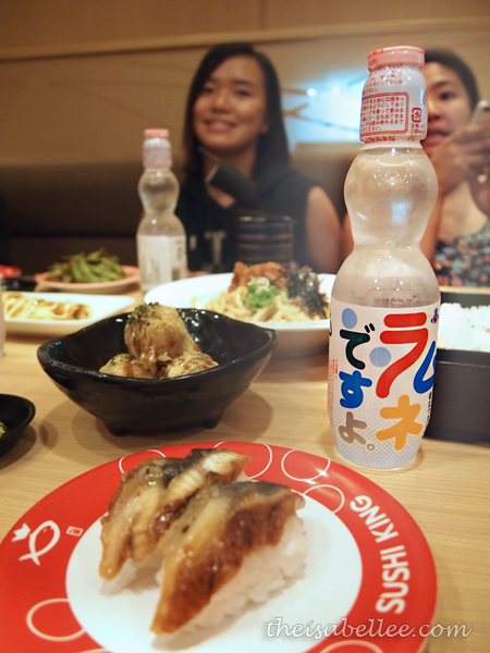 Sushi King Ramune soda water
