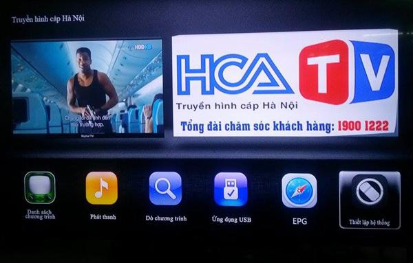 Hanoicab miễn phí phí sử dụng dịch vụ HD