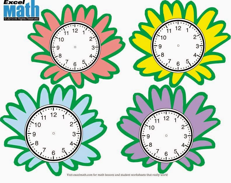 Flower Clock Patterns