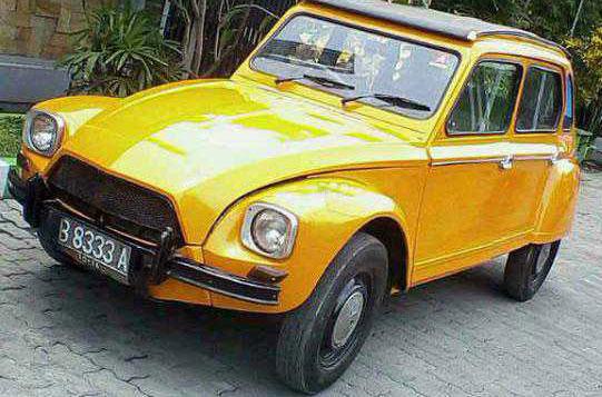 1974 Citroen Dyane 09 ~ Mobil Bekas & Rental Mobil on