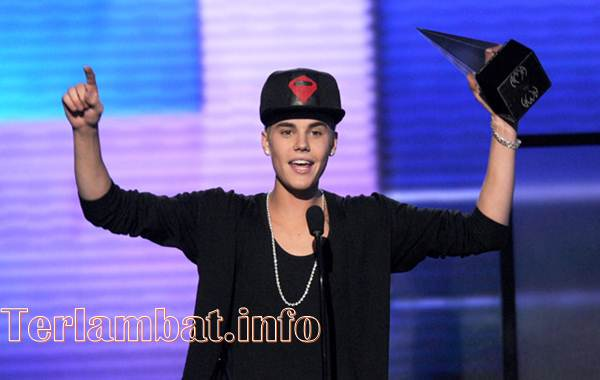 Justin Bieber American Music Awards 2012
