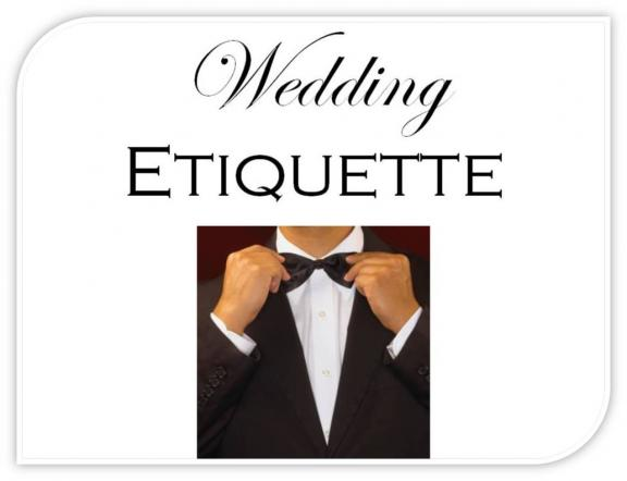 How to Find Rules On Wedding Etiquette