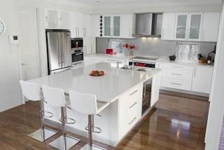 2011 modern white kitchen cabinets