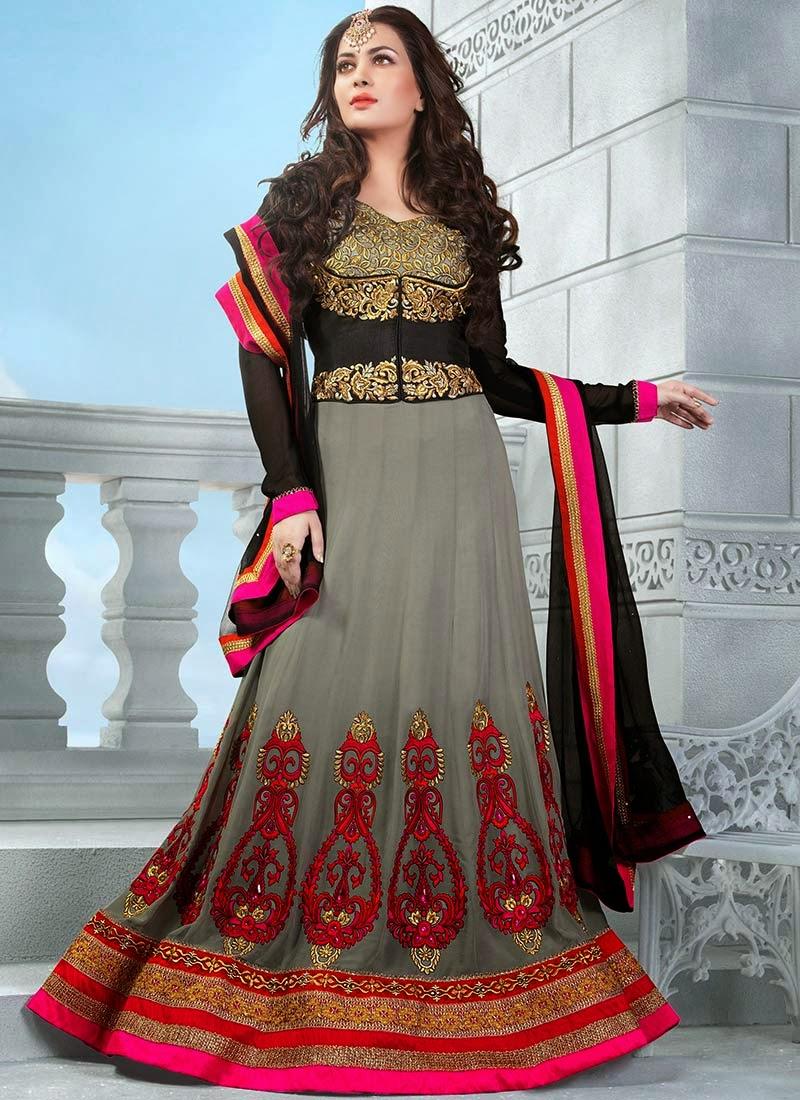 fashion floor length dress