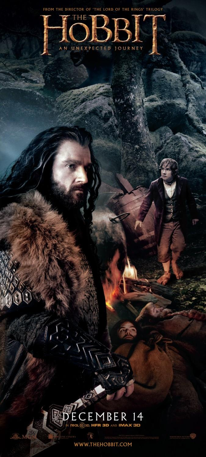 the hobbit releases 3 new beautiful movie posters