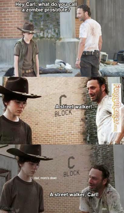 walking dead funny pic