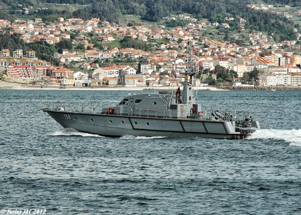 Moroccan Law Enforcement & Cost Guard Fleet / Vedettes de Surveillance et les Gardes des Côtes - Page 5 Clase+Rodman-101+P-138+(4)