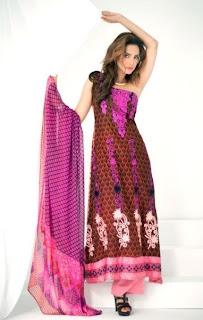 Libas Embroidered Lawn Magazine 2013 Shariq Textiles