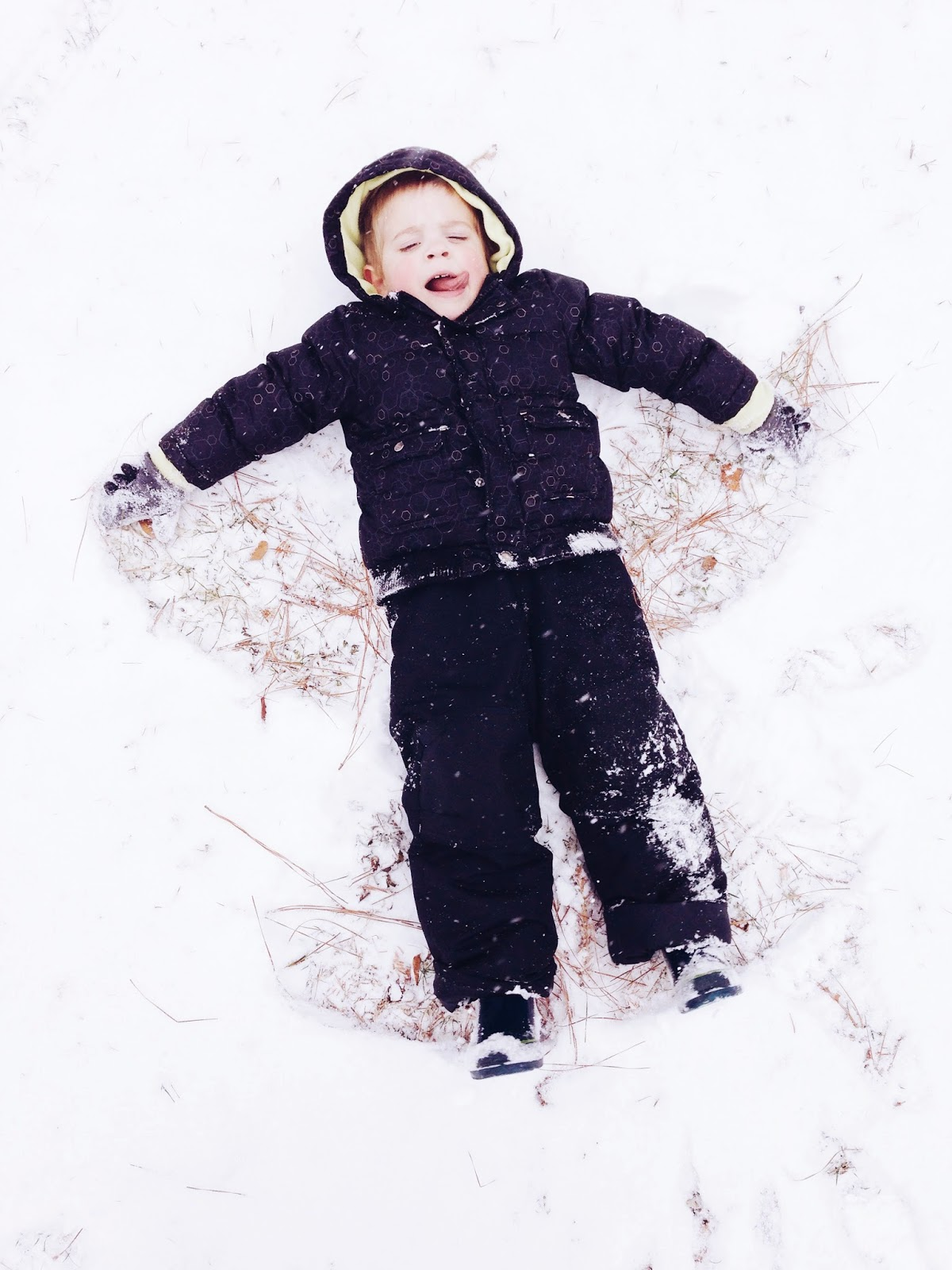 snow-angel-making