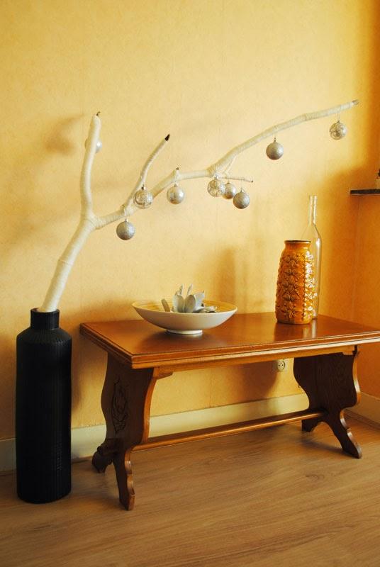Dutch design on a budget diy takkewerk een mooie tak ter decoratie - Decoratie terrace ...