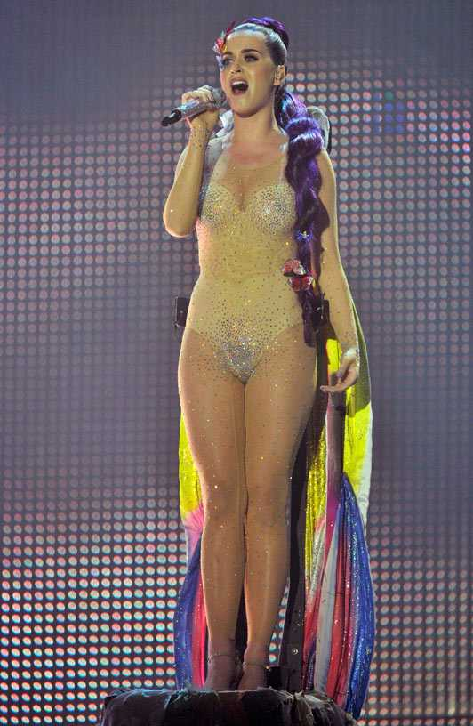 Fourth Studio Youtube Katy Perry Nude Bodysuit For Muchmusic