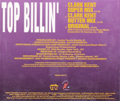 Audio Two – Top Billin' (Promo CDS) (1988) (320 kbps)