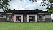 4-Bedroom Bungalow House Plans