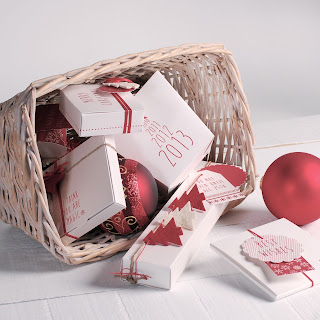 decoración navideña self packaging cajas cajitas