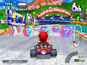 Mario Highway course in Mario Kart Arcade GP
