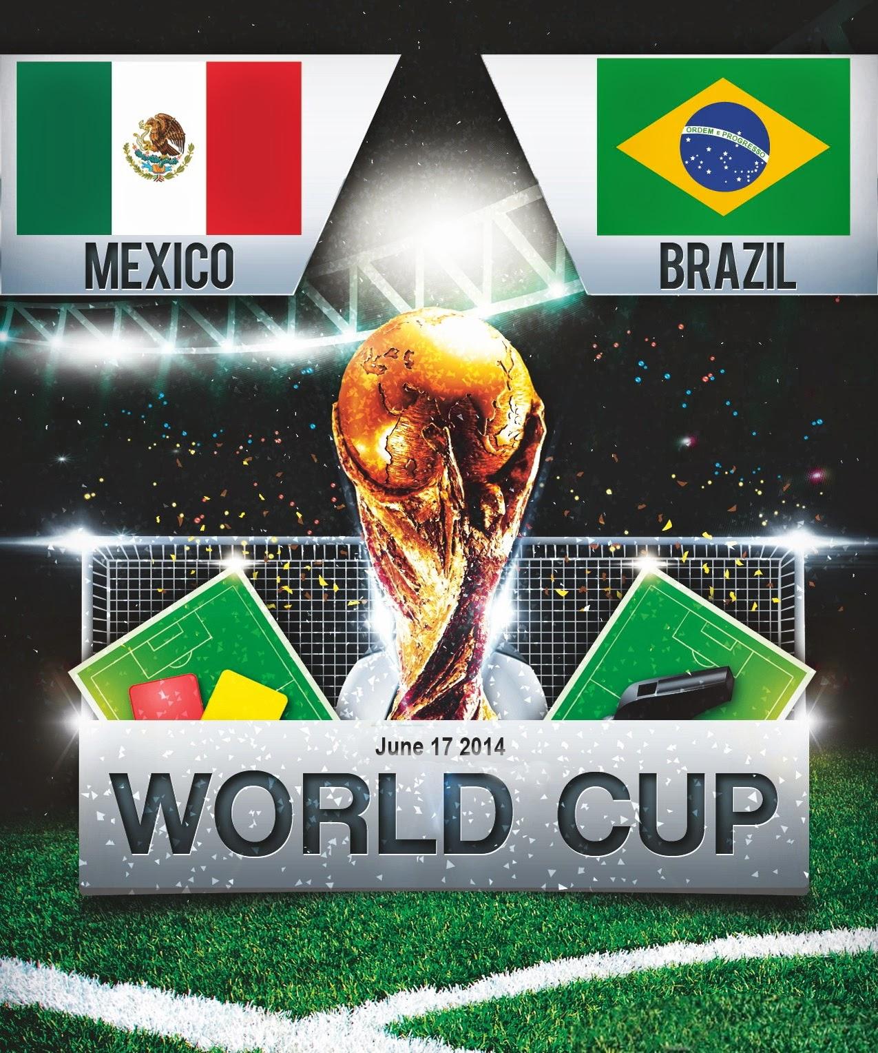 FIFA World Cup 2014 - Brazil Vs Mexico