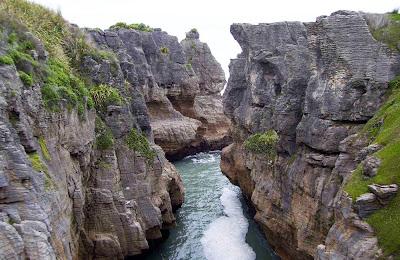 Pancake Rocks - Nova-Zelândia