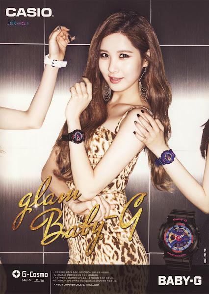 Seohyun SNSD Baby-G Glam 2014