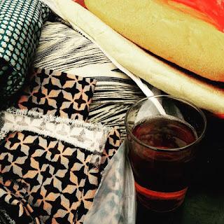 DIY damesjurk, naaien, sewing, rechte jurk, Brussel zuidmarkt
