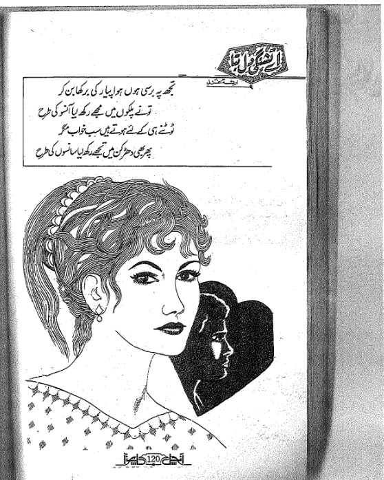 Aey Tashangi e dil bta novel by Areesha Ghazal Online Reading