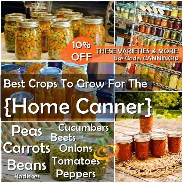 Best Crops for the Home Canner