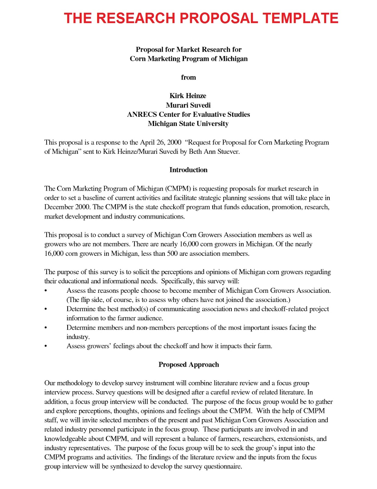 Research Plan Template | Apa Research Proposal Template Trisa Moorddiner Co