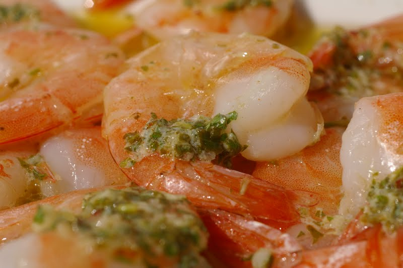 My Catholic Kitchen » Spicy Lemon Garlic Shrimp and Gourmet magazines ...