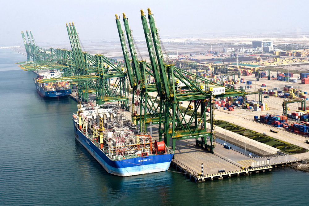 Port of Tianjin