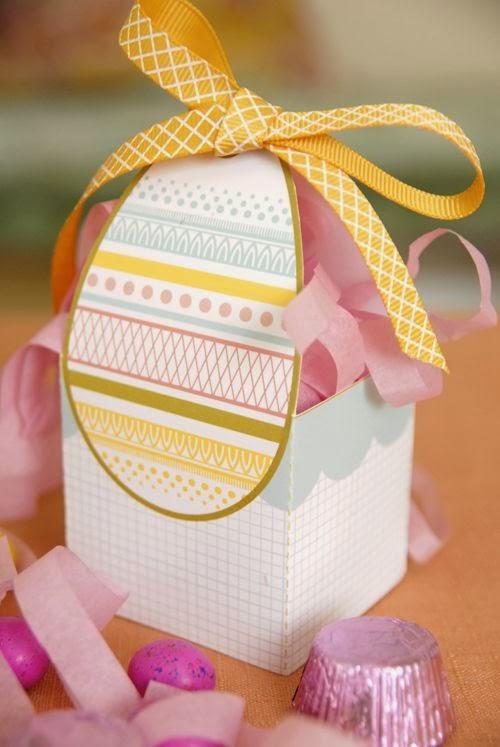 Porta chocolate e guloseimas, para alegrar a Páscoa.