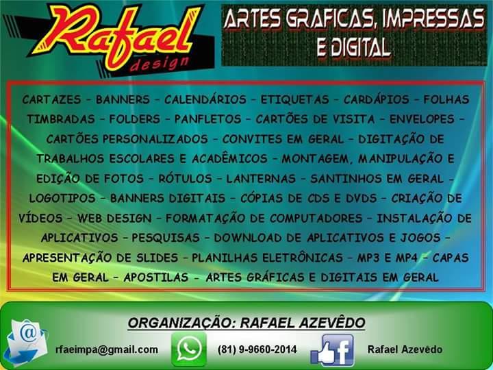 RAFAEL ARTES GRÁFICAS - OROBÓ/PE