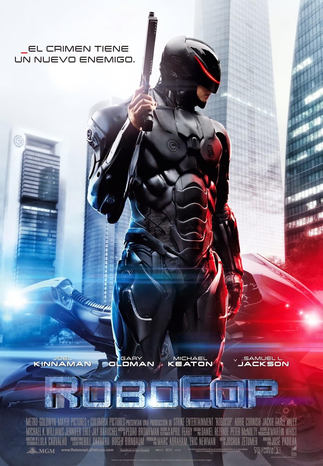 Robocop poster en español