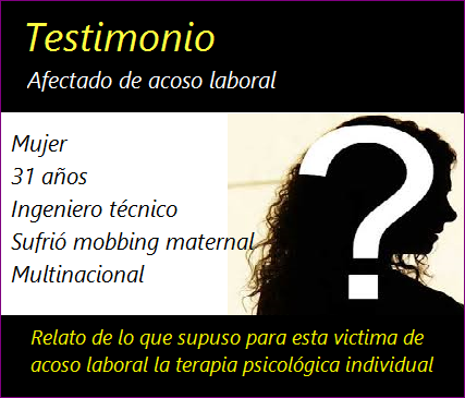MobbingMadrid Testimonio: El acoso laboral repercute directamente en tu familia y tus amigos